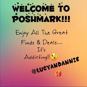 Welcome New Poshers!!!  Congrats!!!🎈🎊🍾