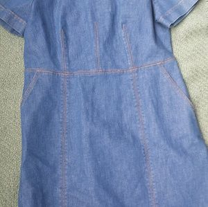 J Crew Denim Dress