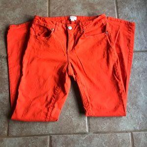 Orange Crown & Ivy jeans