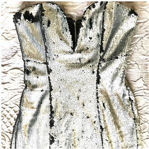 🆕 NASTY GAL SEQUIN MINI DRESS NWT🌹❗️