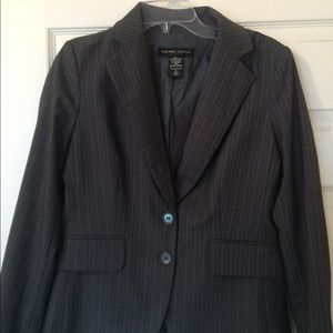Grey Pinstripe blazer from New York and Company