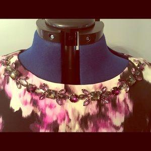 Eliza J 3/4 sleeve w/Jewel Neckline Like New Sz12