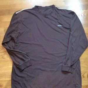 South Pole brown long sleeve top size M