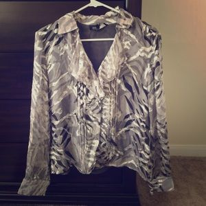 Grey camo blouse (early 2000s style)
