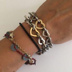 Not a Tiffany & Co heart bracelet sterling silver