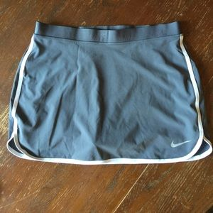 Dark gray Nike skirt