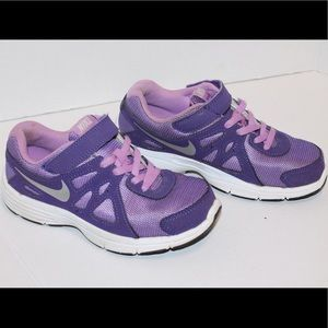 Nike revolution 2 purple 1youth sneakers