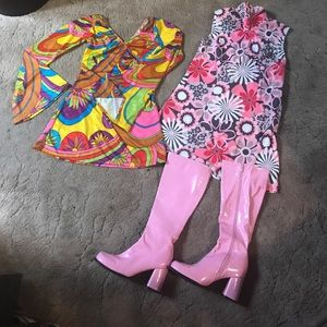 Other - GoGo Disco 60's 70's hip hop Halloween costume