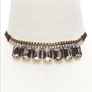 Banana Republic jeweled reborn necklace
