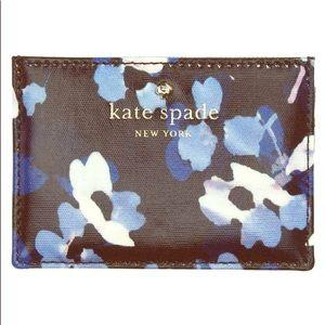 NWT Kate Spade cedar street floral card holder