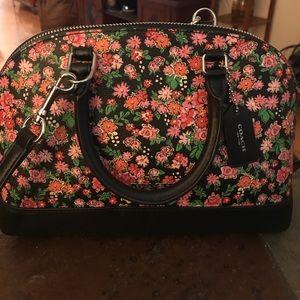 Mini Coach satchel/crossbody bag