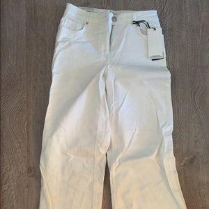Zara white culottes