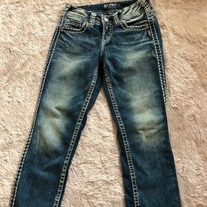 Silver Suki cropped jeans size 25 NWOT