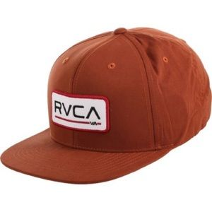 NEW RVCA big block snap back