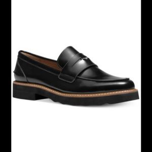 Coach Ida Womens Leather Loafers & Moccasins