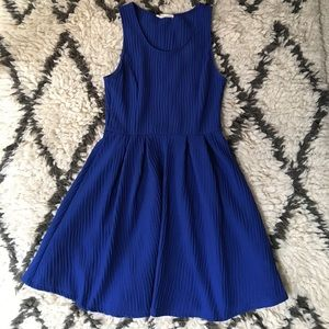 Nordstrom Lush blue dress