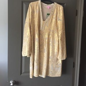 NWT Lilly Pulitzer Colby silk tunic dress