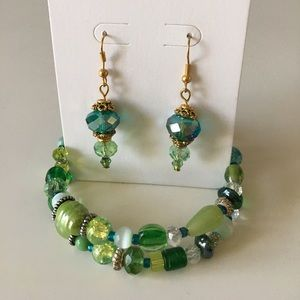 Beaded Bracelet & Earring Bundle ✨ Hand-made NWOT