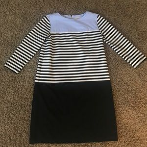 Loft striped dress