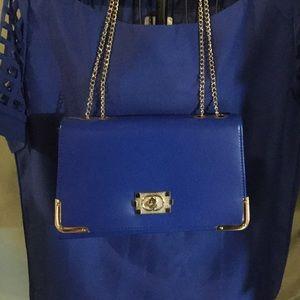 Ladies Royal Blue Handbag