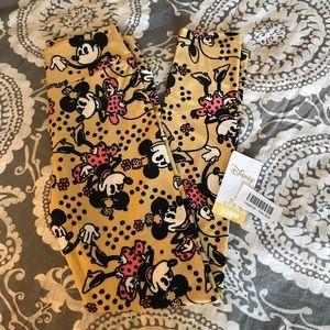LuLaRoe Disney Vintage Minnie Mouse Yellow OS