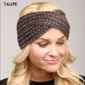 Twisted Knit Ear warmer / headband