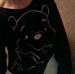 Black whinny the pooh sweatshirt