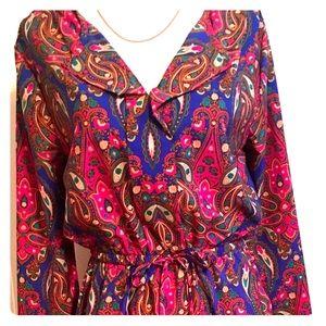 Merona-Target. Work/play dress w/beautiful color