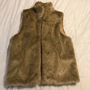 Faux Fur Vest!