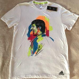 Men's Adidas Messi logo tee