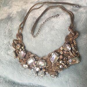 Girly rhinestone necklace 💎