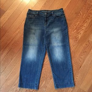 💙Chico's Straight Crop Jeans💙