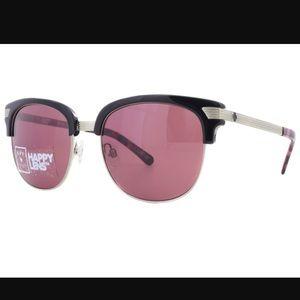 Spy bleaker sunglasses rose lenses