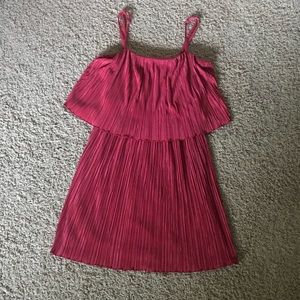 Pink/coral dress from Forever 21