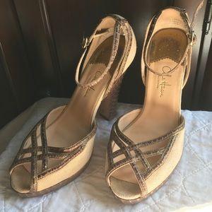 Cole Haan Blanca Air Denim Heels