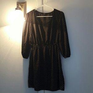 Never worn XXI polka dot dress