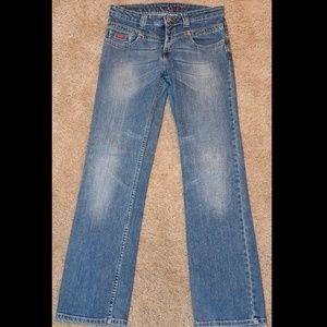 Unique ladies' Hero by Wrangler straight leg jeans
