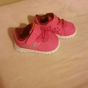 Pink Baby NIKE's!  NEW W/O Tags!!