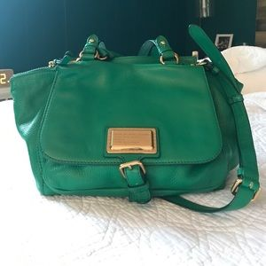 Marc by Marc Jacobs green bag