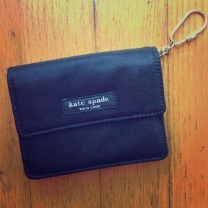 GUC Kate Spade Nylon wallet black