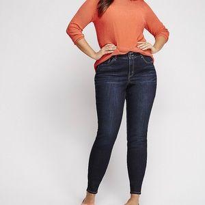 EUC Lane Bryant High Rise Tummy Control Jeans 👖