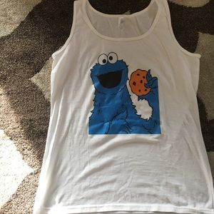 NWOT Cookie Monster tank