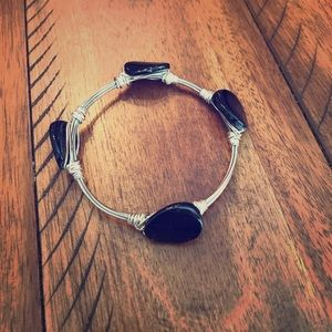 Looks like Bourbon and Boweties bracelet