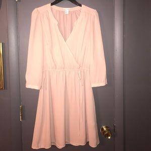H&M soft pink dress