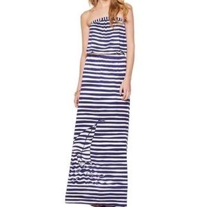 Lilly Pulitzer Emmett Strapless Maxi Dress, M