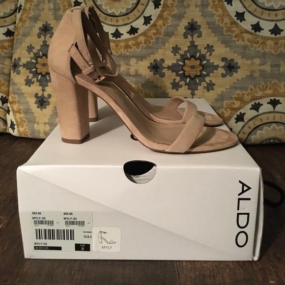 744c397f5de5 Aldo Shoes - Aldo Suede Heels - Myly
