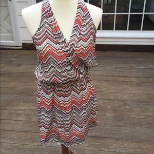 Silk print Parker dress
