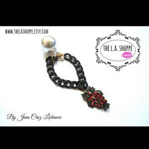 Handmade owl bracelet