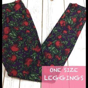 Apple one size Lularoe leggings