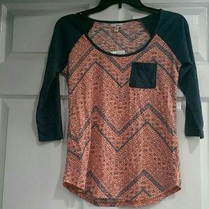 NWT Bingo shirt, 3/4 sleeves, medium